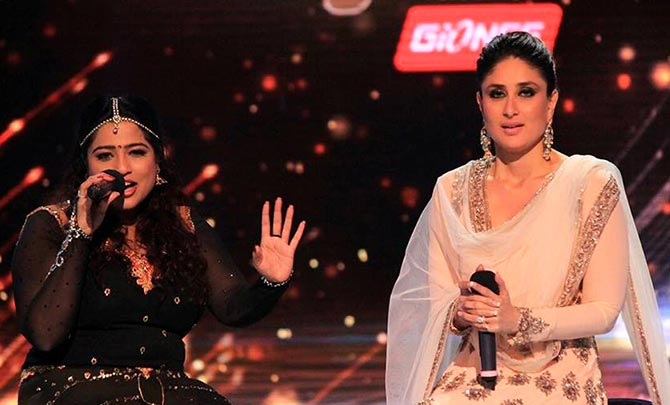 Malishka Mendonsa and Kareena Kapoor on Jhalak Dikhhla Jaa