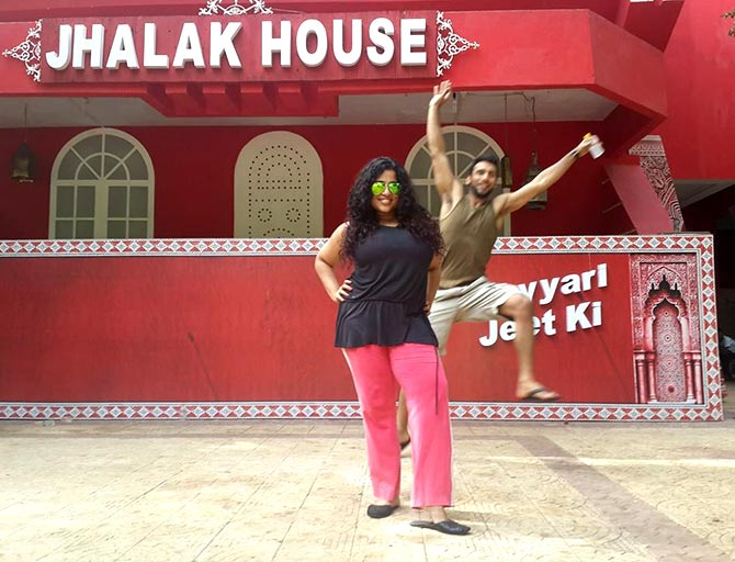 Malishka Mendonsa and Punit Pathak on Jhalak Dikhhla Jaa
