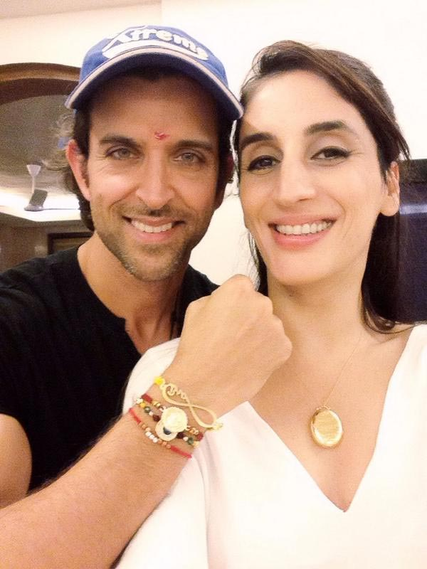 Hrithik Roshan and Farah Khan Ali