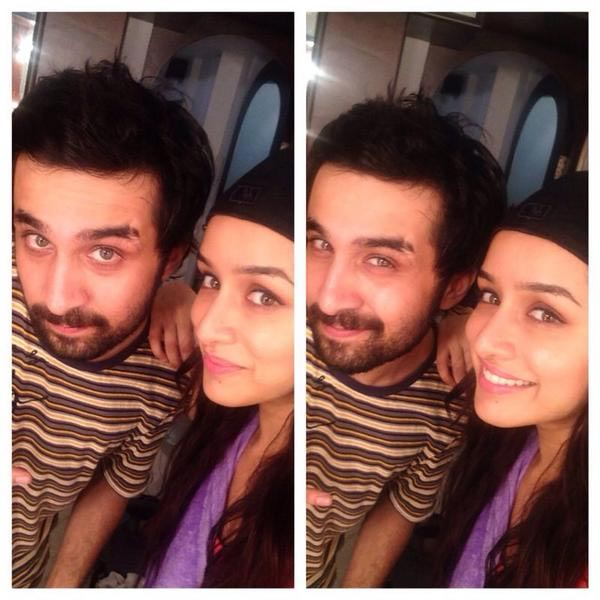 Siddhanth and Shraddha Kapoor