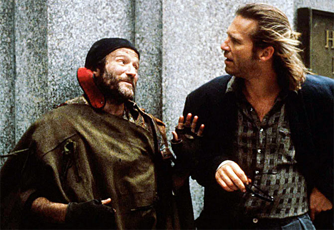 Robin Williams in The Fisher King