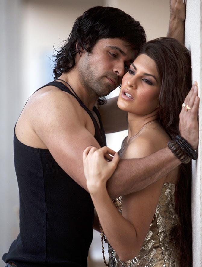 Emraan Hashmi with Jacqueline Fernandez in Murder 2