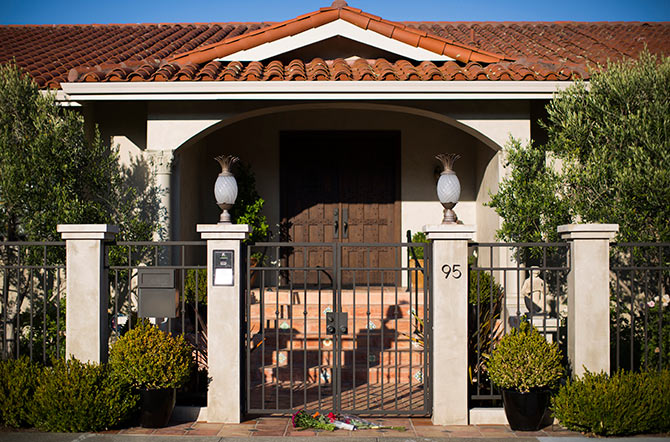 Robin Williams' California residence