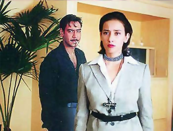 Manisha Koirala with Ajay Devgn in Company