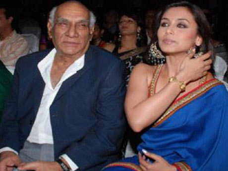 Yash Chopra and Rani Mukerji
