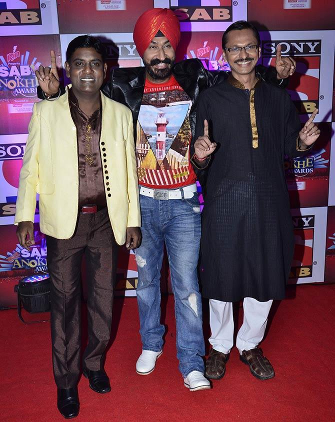 Tanuj Mahashabde, Gurucharan Singh and Shyam Pathak