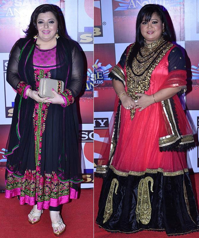 Delnaaz Irani and Bharti Singh