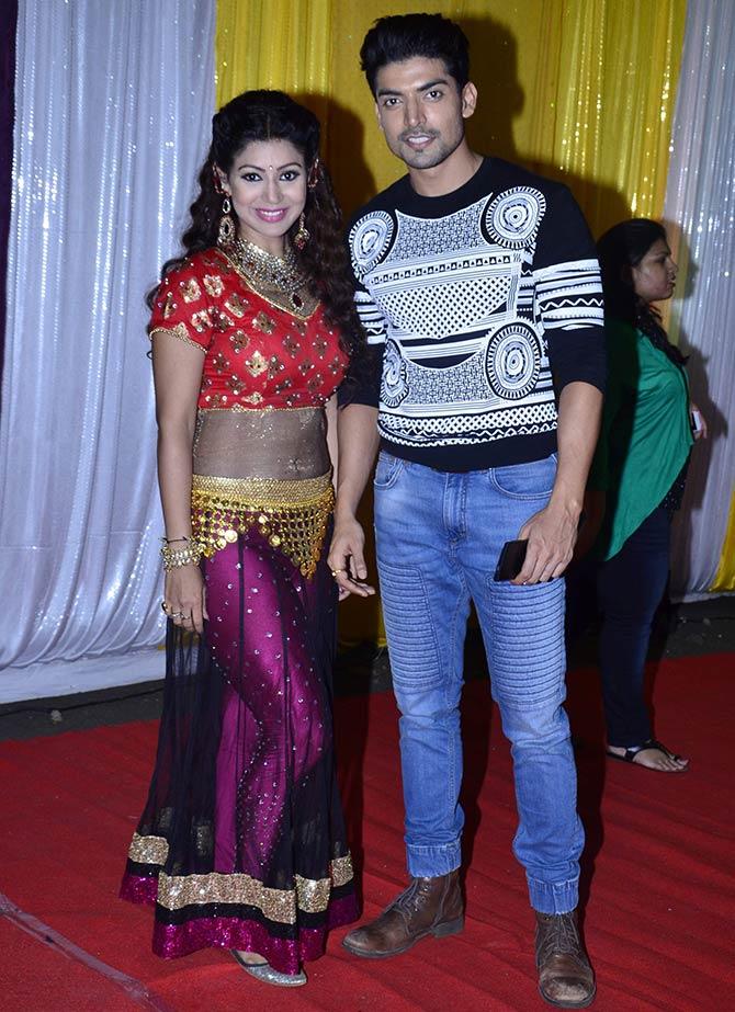 Debina Bonnerji and Gurmeet Choudhary