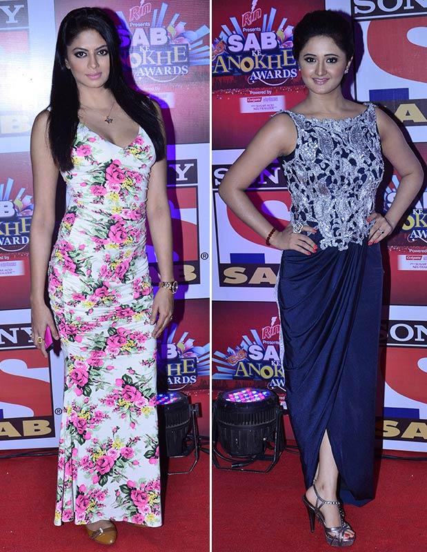 Kavita Kaushik and Rashmi Desai