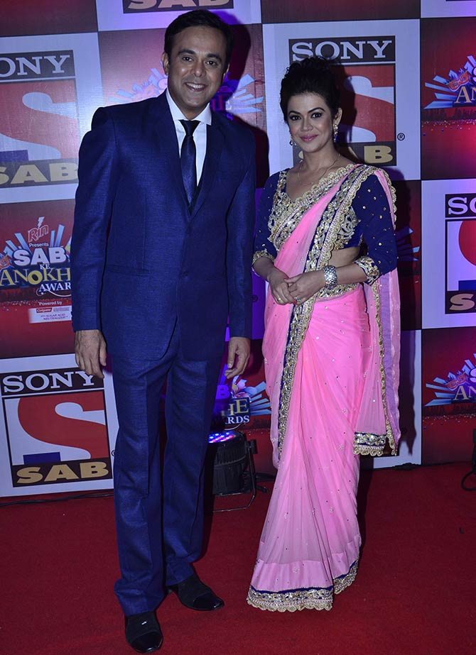 Sumeet Raghvan and Shweta Gulati