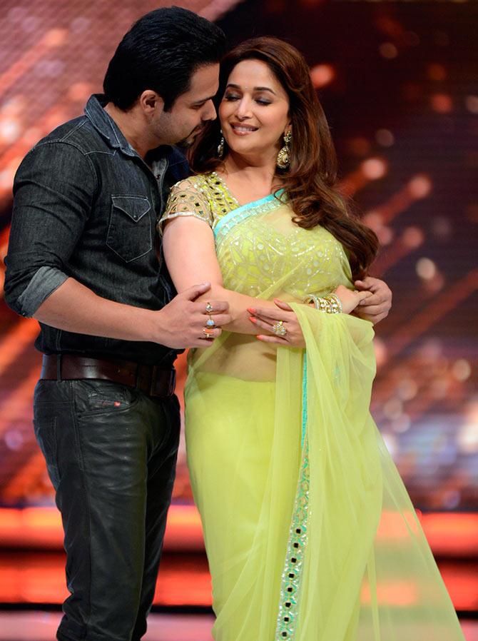 Emraan Hashmi and Madhuri Dixit