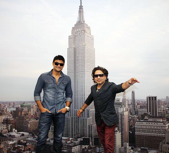 Manav Gohil and Kailash Kher
