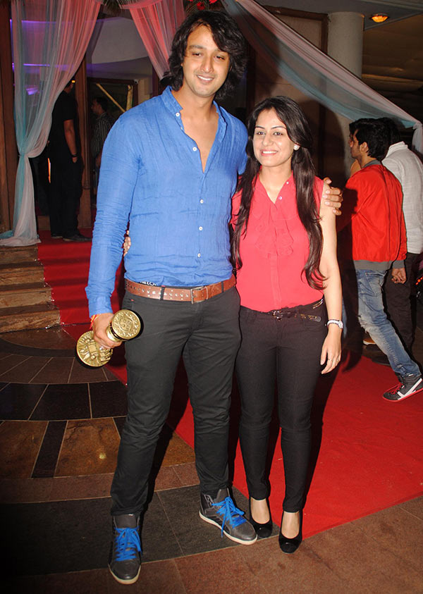 Saurabh Raaj Jain with wife