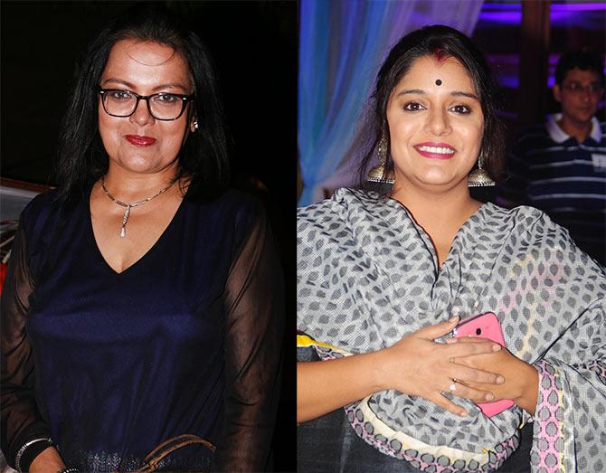 Sushmita Mukherjee and Kshiti Jog