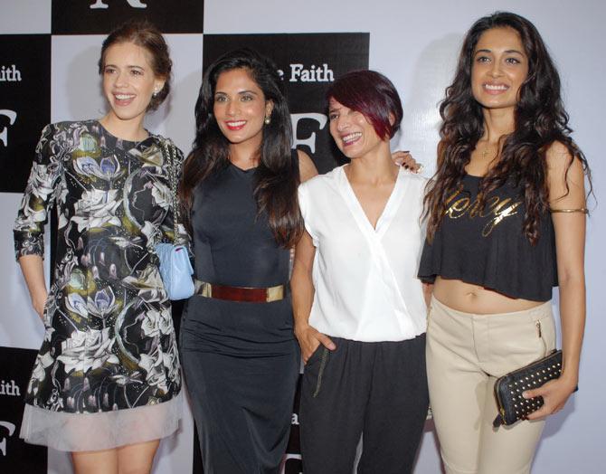 Kalki Koechlin, Richa Chadda, Adhuna Akhtar and Sarah Jane Dias