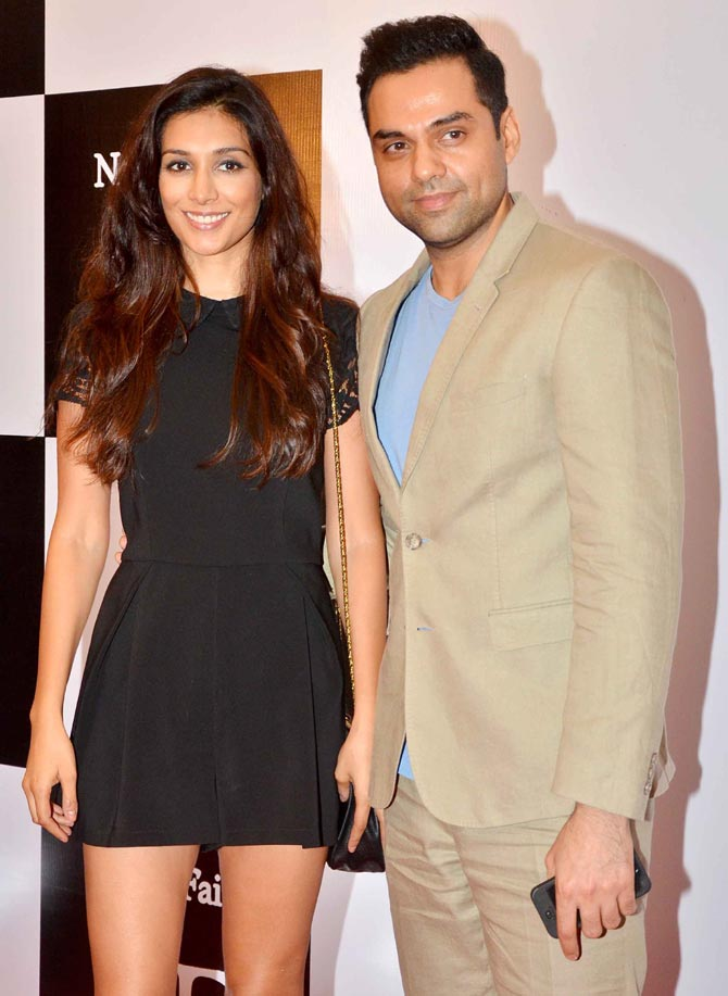 Preeti Desai and Abhay Deol