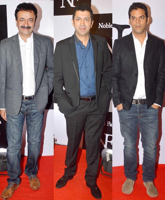 Rajkumar Hirani, Kunal Kohli and Vikramaditya Motwane