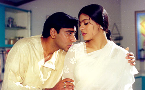 Ajay Devn and Kajol in Dil Kya Kare