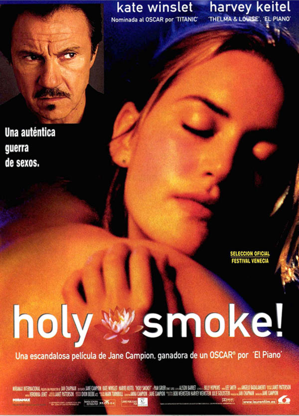 Harvey Keitel and Kate Winslet on the poster of Holy Smoke.