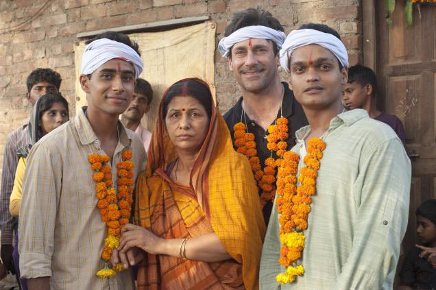 Suraj Sharma, Lata Shukla, Jon Hamm, Madhur Mittal in Million Dollar Arm.