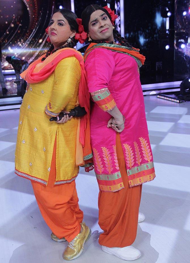 Vidya Balan and Kiku Sharda on Jhalak Dikhhla Jaa