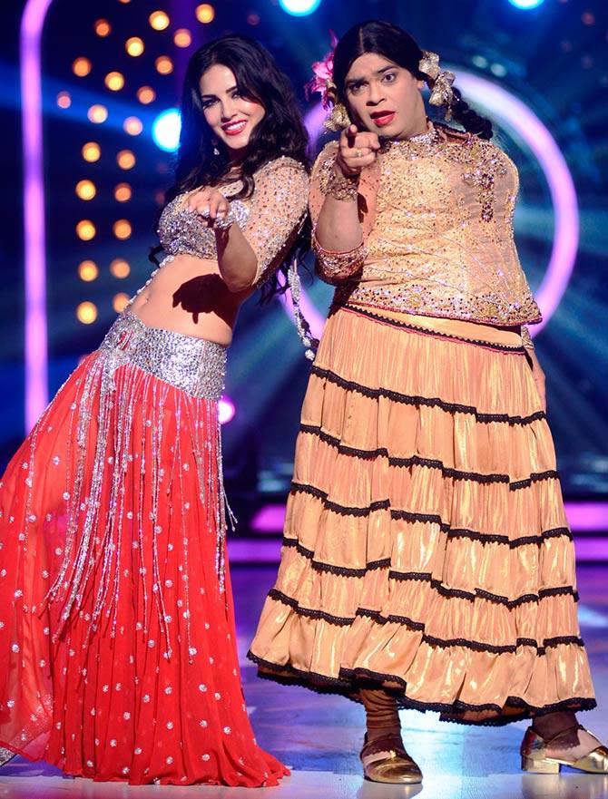 Sunny Leone and Kiku Sharda on Jhalak Dikhhla Jaa