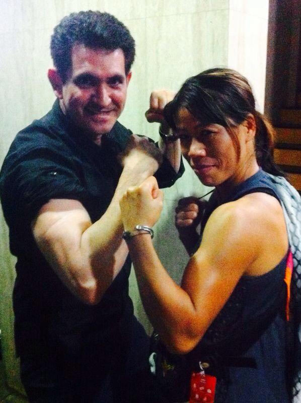 Omung Kumar and Mary Kom