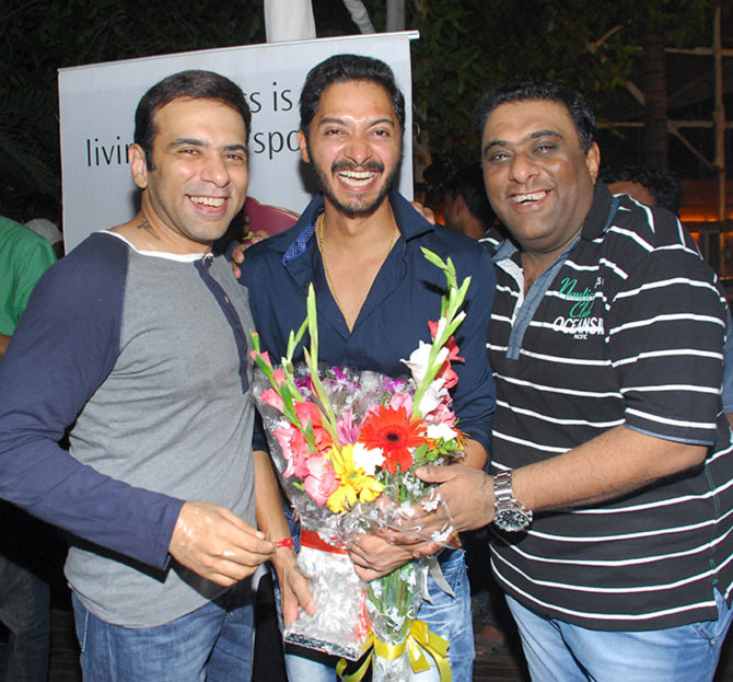 Farhad, Shreyas Talpade and Sajid