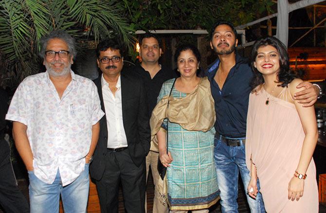 Vijay Kenkare, Sameer Patil, Charu Dutta Bhagwat, and Mangal Kenkare