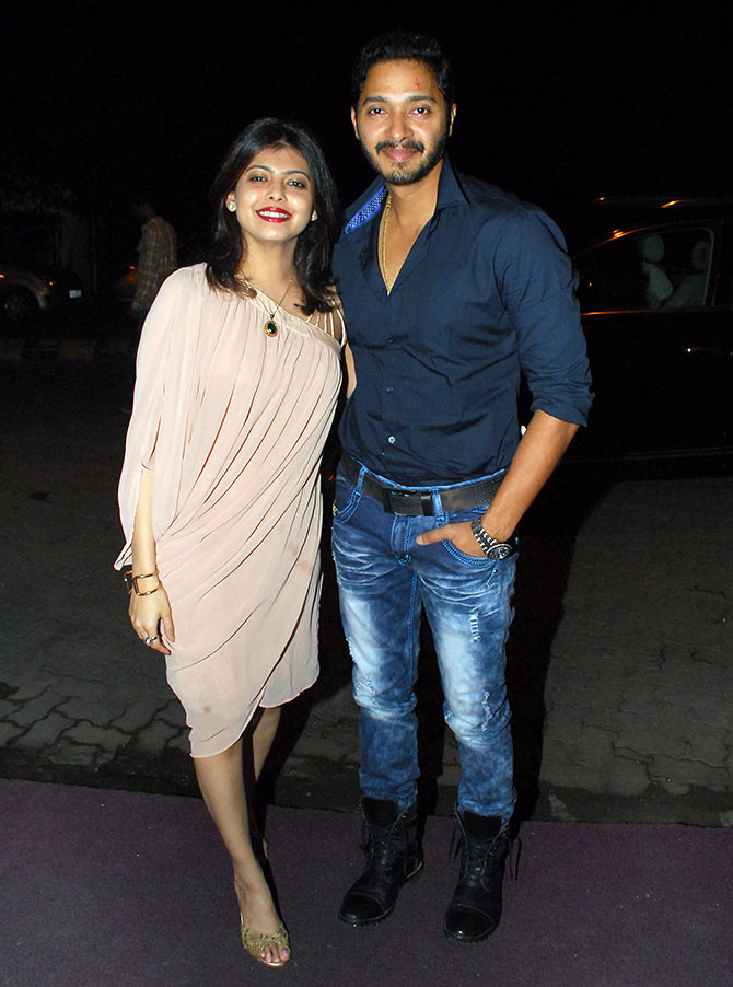 Deepti Talpade with Shreyas