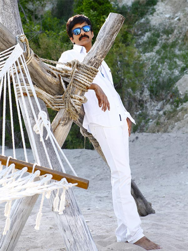 Ravi Teja in Power