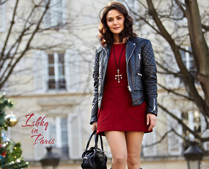 Preity Zinta in Ishkq In Paris