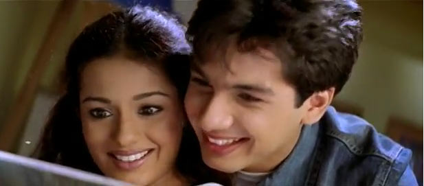 Amrita Rao and Shahid Kapoor in Ishq Vishk