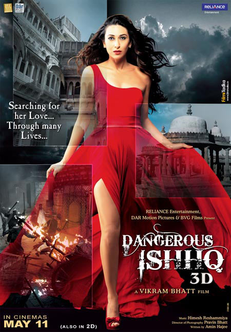 Movie poster of Dangerous Ishhq