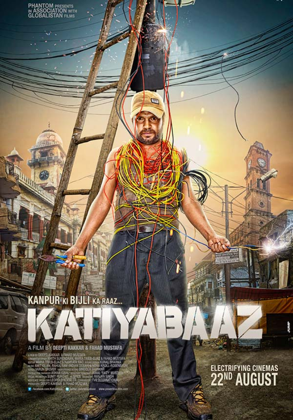 Movie poster of Katiyabaaz