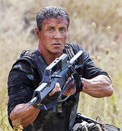 Slyvester Stallone in The Expendables 3
