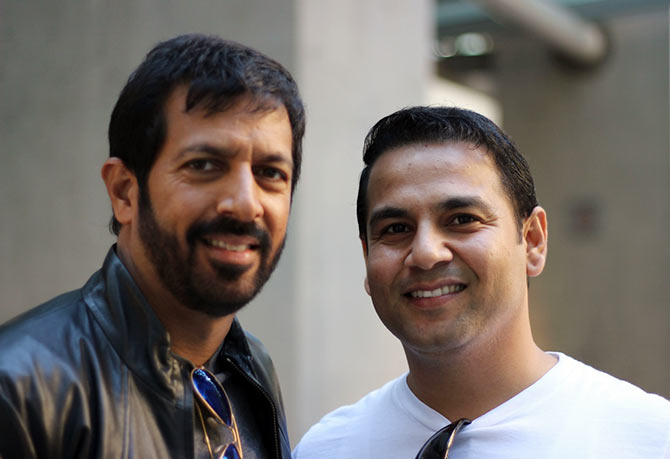 Kabir Khan with reader Mandeep