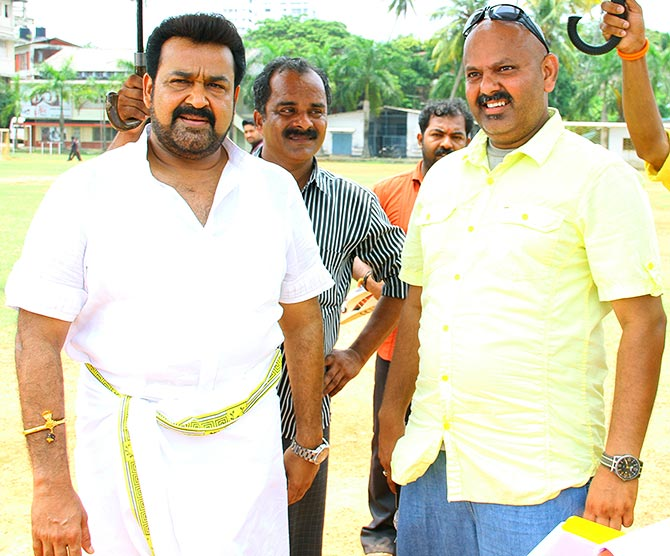 Mohanlal and director Arun Vaidyanathan