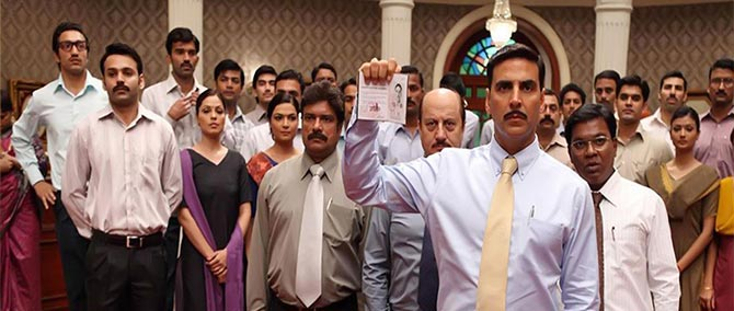Akshay Kumar and Anupam Kher in Special 26