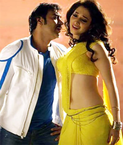 Ajay Devgn and Tamanaah in Himmatwala