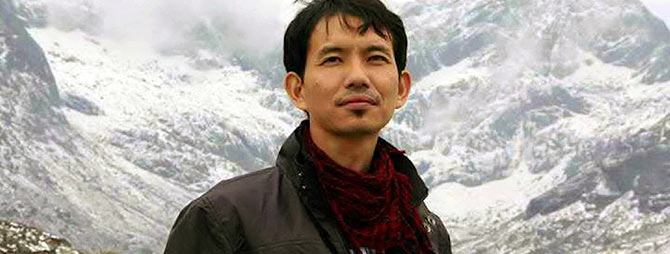 Sange Dorjee Thongdok director of Crossing Bridges