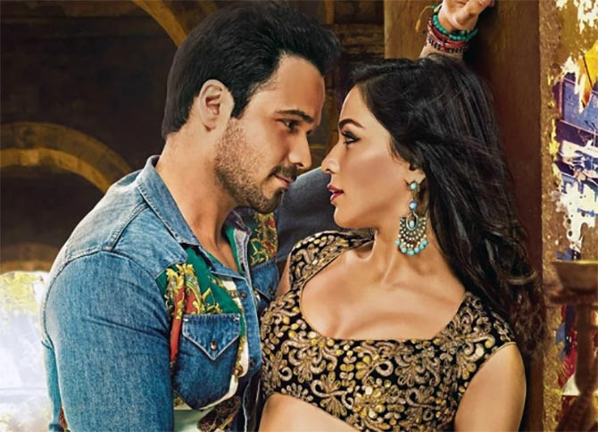 Emraan Hashmi and Humaima Mallick in Raja Natwarlal