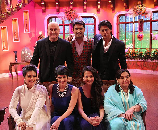 The DDLJ cast on Comedy Nights With Kapil