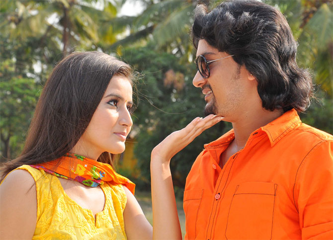 A scene from Naanu Hemanth Avalu Sevanthi