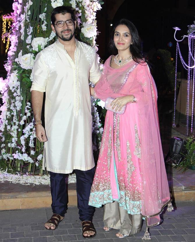 Pix Imran Gauri Khan Zoya At Manish Malhotra S Niece Sangeet Rediff Movies