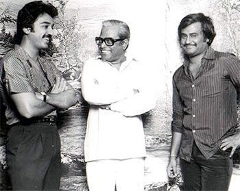 Kamal Haasan, K Balachander and Rajinikanth