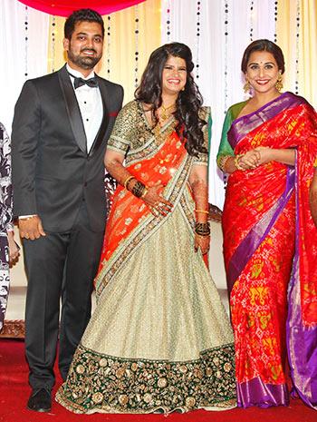 PIX Vidya Balan Mandira Bedi Glam Up For A Wedding