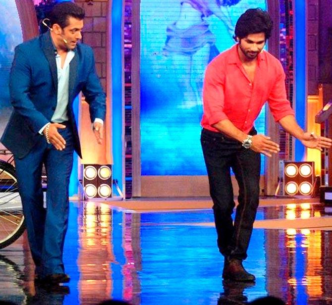 Current Bollywood News & Movies - Indian Movie Reviews, Hindi Music & Gossip - Salman replacing Shahid on Jhalak Dikhhla Jaa?