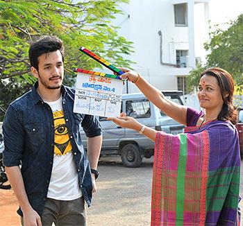 Current Bollywood News & Movies - Indian Movie Reviews, Hindi Music & Gossip - Nagarjuna's son Akhil Akkineni to make his debut