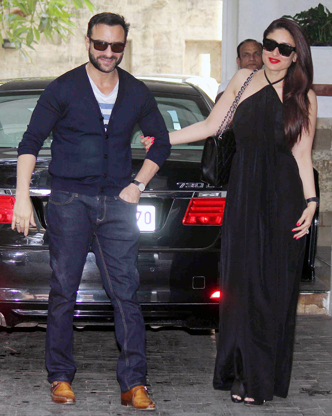 Awesome Shashi Kapoor Christmas Party Part - 1: Saif Ali Khan And Kareena Kapoor